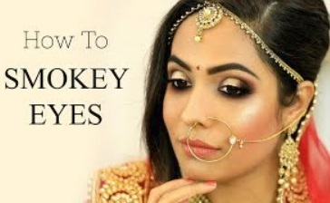 How To SMOKEY EYES | Indian BRIDAL/PARTY Makeup Tutorial