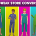 Luxe Kidswear Store Conversion Pack for Sims 4