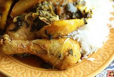 طريقة عمل طاجين الدجاج المغربي مع الكمثرى المكرملة