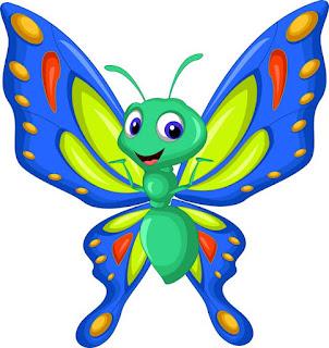 قصة الفراشة المغامرة