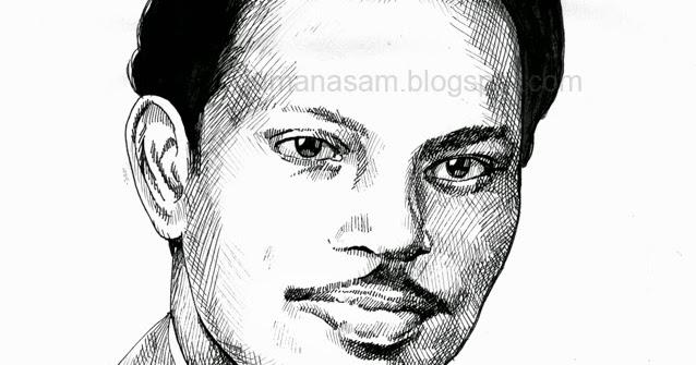 Jumana art blog: M  S BABURAJ    (Drawing - Pen&Ink )