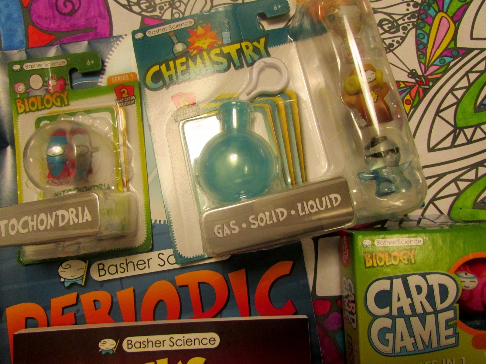 Heck of a bunch basher science collaborated with mattel for new children 6 will now be able to collect and play with their favourite characters from bashers periodic table gamestrikefo Gallery