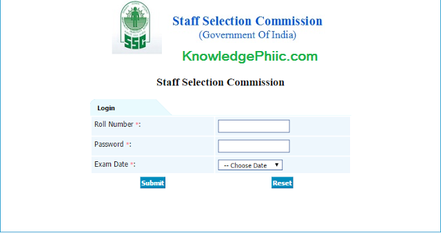 SSC CHSL 2016 Answer keys Released Officially