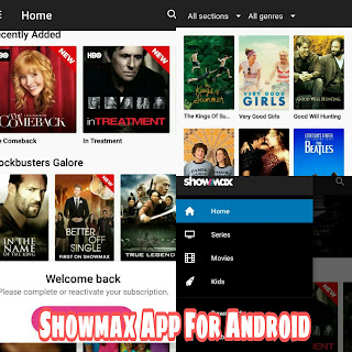 Showmax App for Android