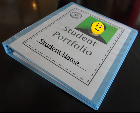 educational portfolio template - empowered by them student portfolios transition special