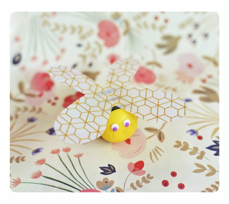 DIY: słoneczka pszczółka