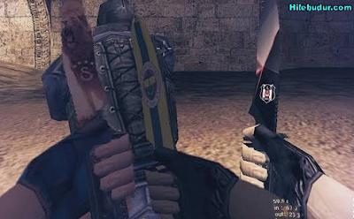 Counter Strike 1.6 GS,BJK,FB Bıçak Skinleri İndir,Tanıtım Temmuz 2017