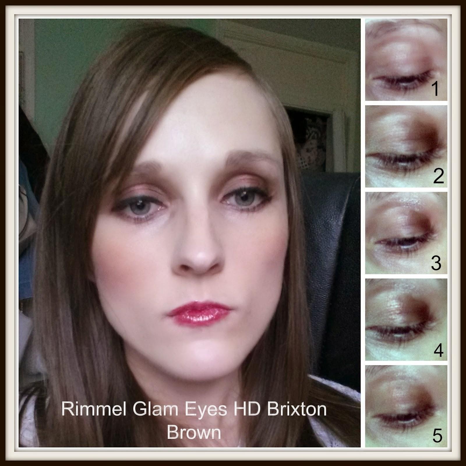 rimmel glam eyes brixton brown review