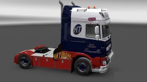 Harris Transport skin DAF Euro 6