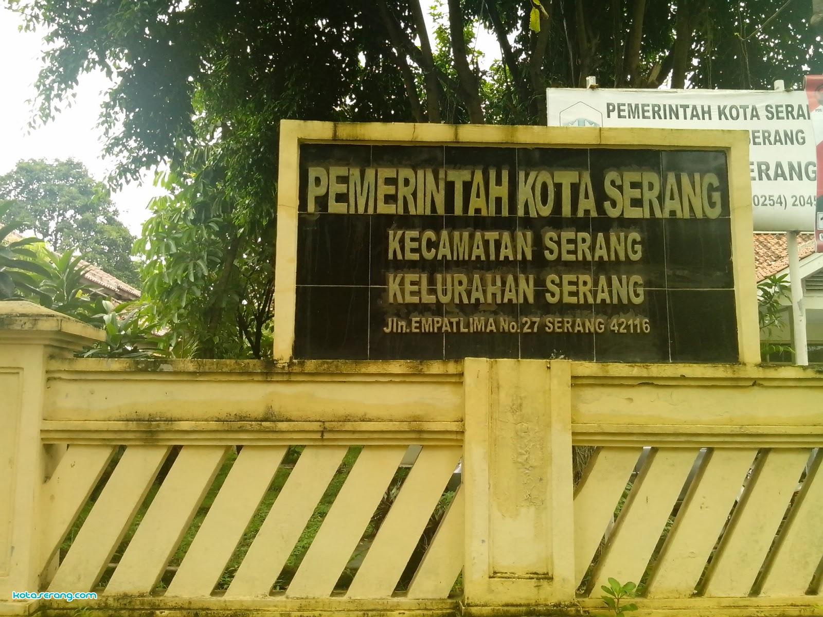 Kantor Kelurahan Kota Serang