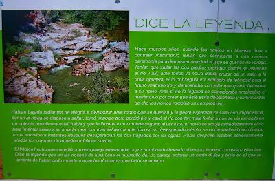 La leyenda del Salto de la Novia y la Cascada del Brazal, en la localidad de Navajas, Castellón. Autor: Miguel Alejandro Castillo Moya