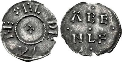 Penique de plata de Athelstan - Guthrum