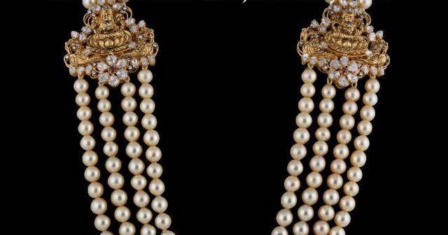 Pearl Haram With Lakshmi Mugappu Latest Indian Jewellery
