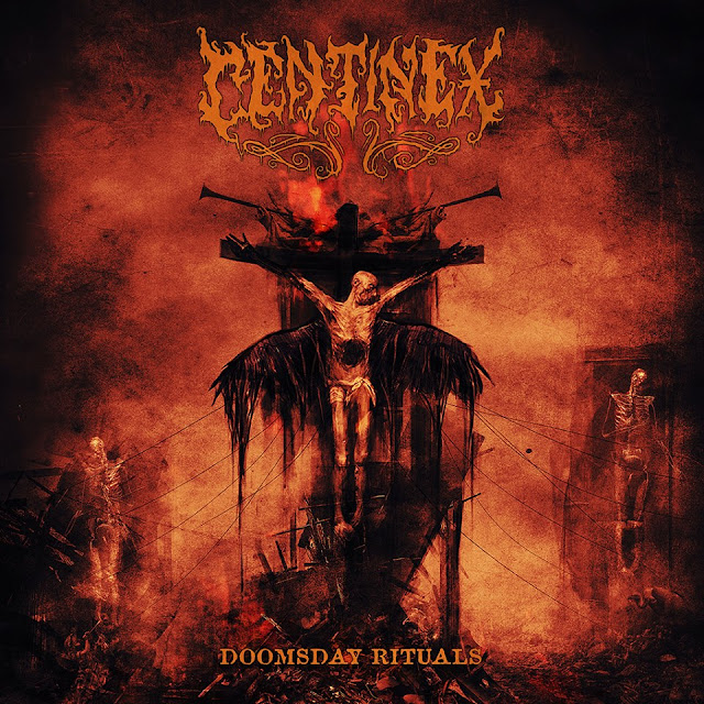 Detail from Centinex New Album, Doomsday Ritual, Detail from Centinex New Album Doomsday Ritual
