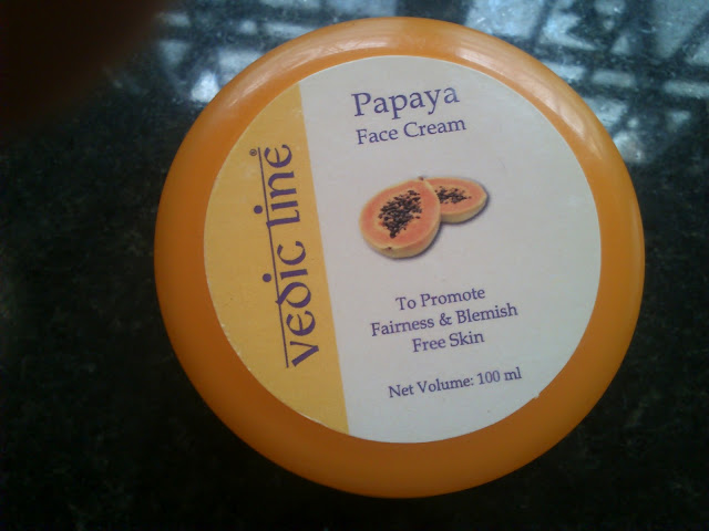 Papaya face cream