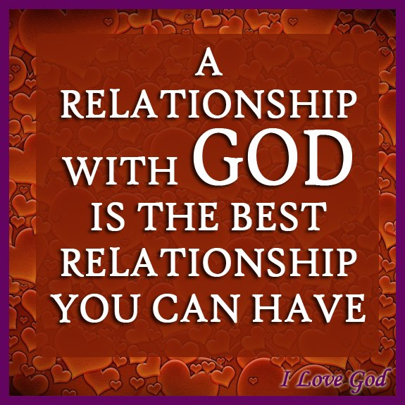 man and god relationship