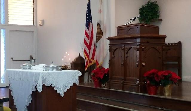 Karácsonyi istentisztelet és úrvacsora Molnár Sándor lelkipásztor közreműködésével