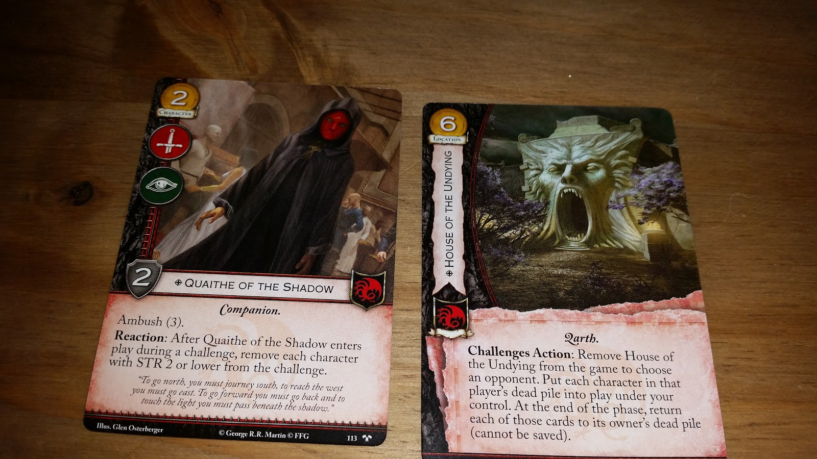 The Garage Gamers: Tyrions Chains chapter pack for a Game ... Quaithe Of The Shadow