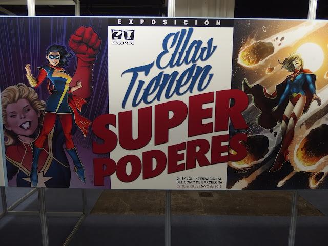 """Exposición """"Ellas tienen superpoderes"""""""