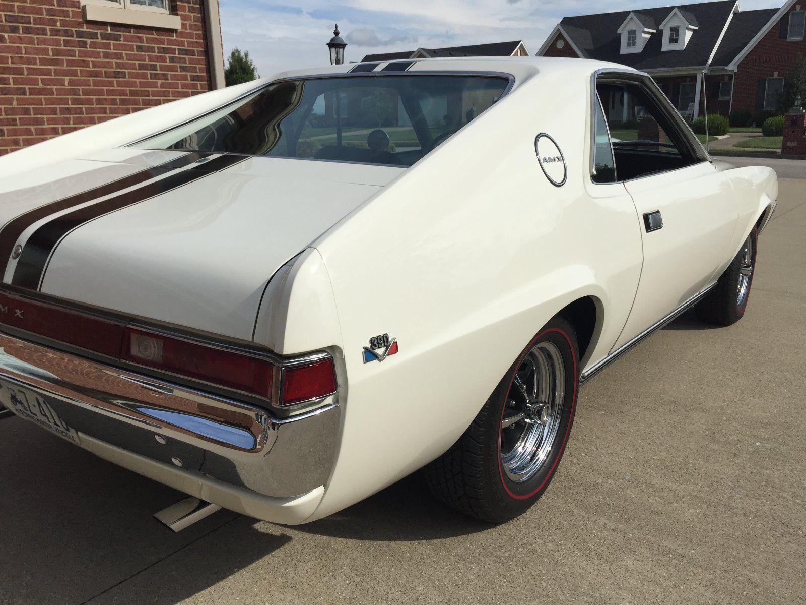 1968 AMX American Motors Muscle Car Muscle Car Monday