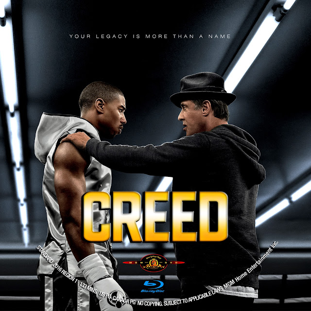 Creed Bluray Label