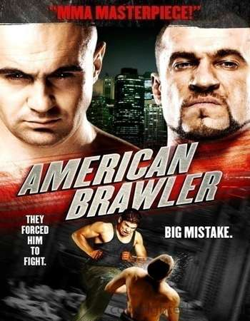 Poster Of American Brawler 2013 Dual Audio 110MB BRRip HEVC Mobile Free Download Watch Online downloadhub.net