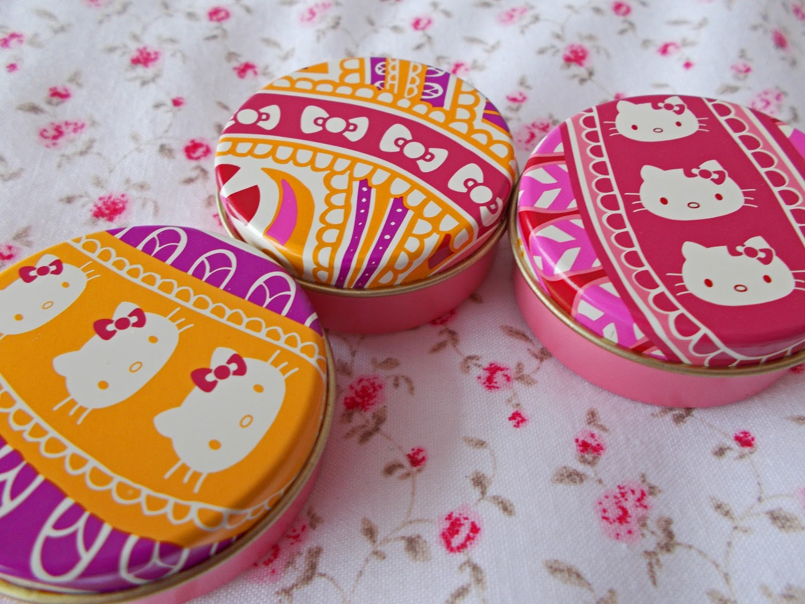 Liberty Art Fabrics For Hello Kitty Lipgloss packaging