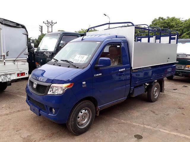 Xe tải Kenbo 990kg thùng mui bạt