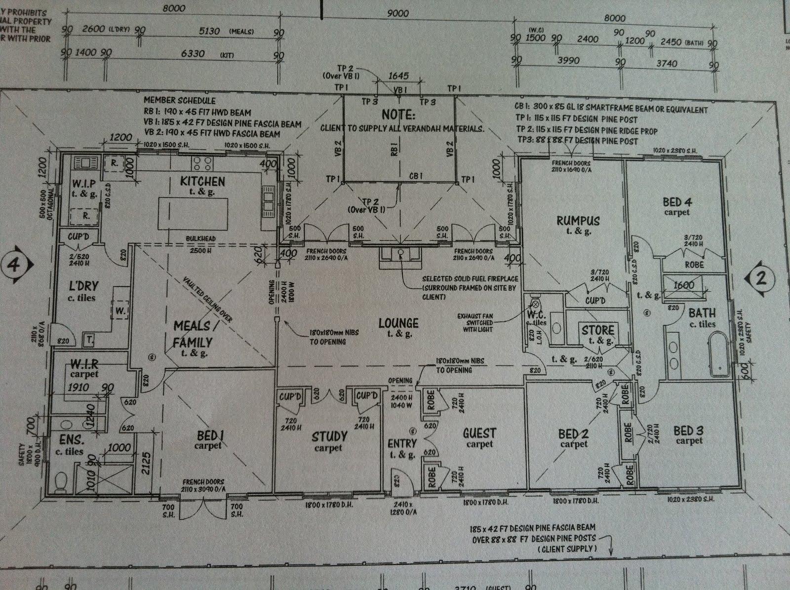 Harkaway Home Floor Plans White Verandah House Plans