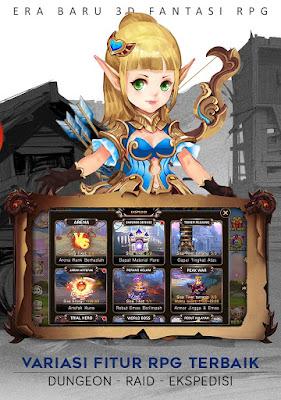 Download Game & Paladi RPG 3D Fantasi Apk v1.0.7 Mod Apk Unlimited Money God Mode