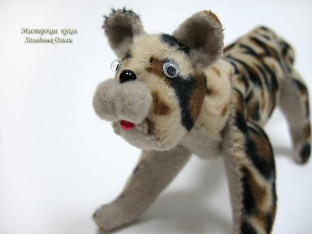 Леопард мордочка