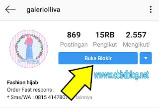 cara memblokir instagram orang agar tidak bisa dibuka lagi