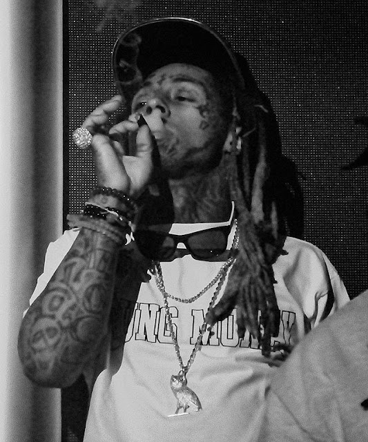 fotos de lil wayne fumando smoke smoking new