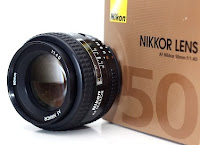 harga Jual Lensa Nikon 50mm F1.4D