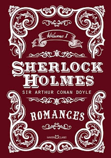 Capa do Livro Sherlock Holmes Vol 1: Romances