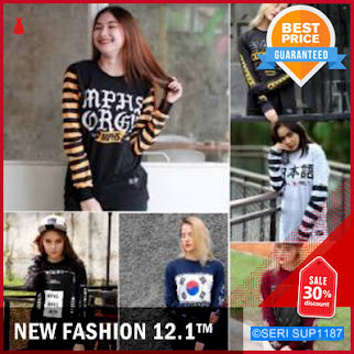 SUP1187T21 Tshirt Kaos Distro Cw Cowo Lengan BMGShop