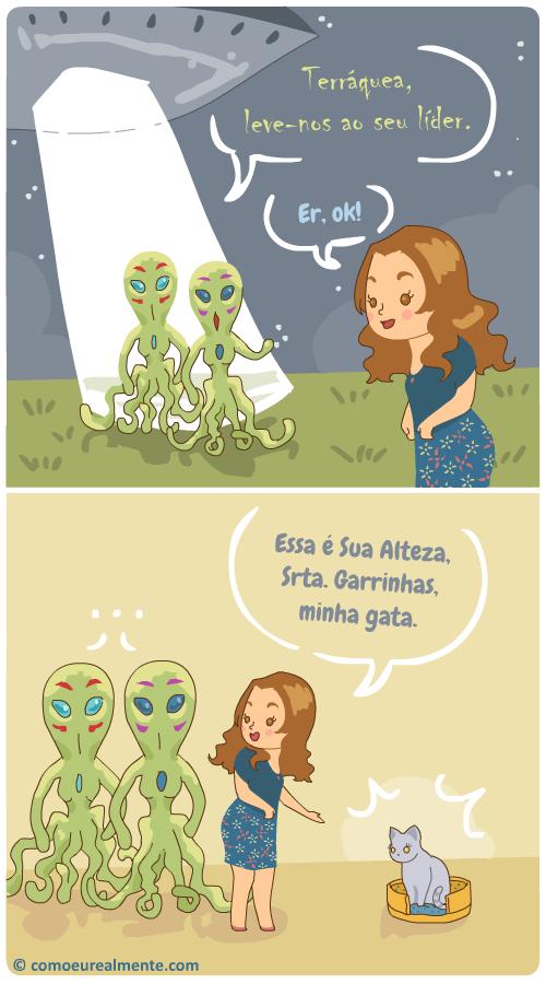 O que realmente aconteceria se extraterrestres viessem falar comigo na Terra