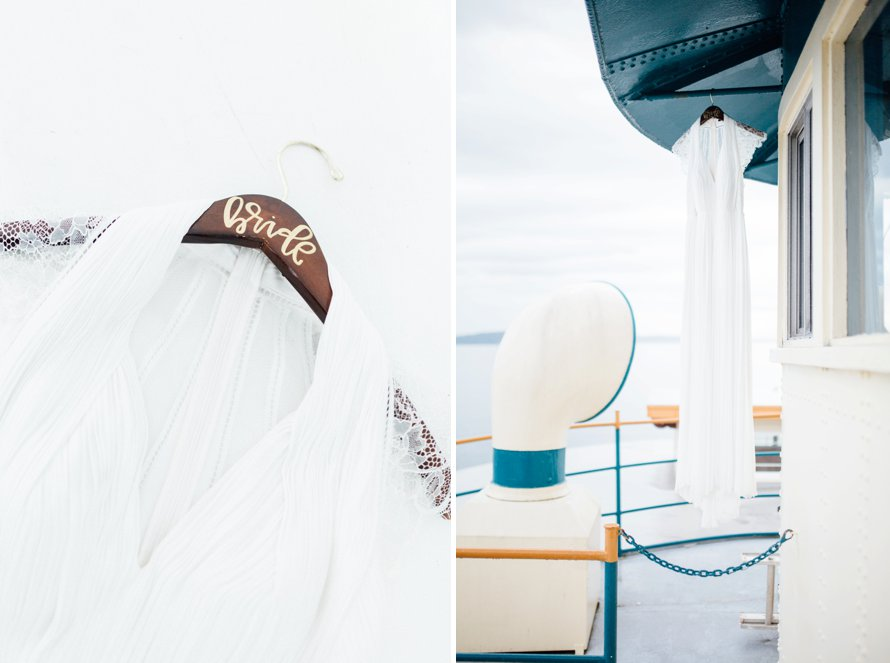 Point Ruston Ferry Wedding by Tacoma Photographer Something Minted