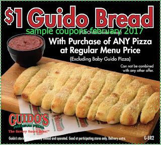 Guidos Pizza coupons february 2017