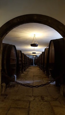 (Almost) Wordless Wednesday - the wine cellars, José Maria da Fonseca