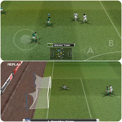 تحميل لعبة PES 2012 الشهيرة التي تضم جميع الفرق العالمية و العربية على الأندرويد