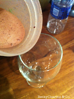 frozen hot chocolate with a blender bottle by beckycharms