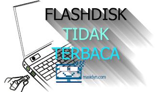 cara memperbaiki flashdisk tidak terbaca pada port usb
