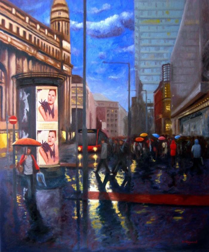 Фигуративный художник и пейзажист. Mark Robert Haywood