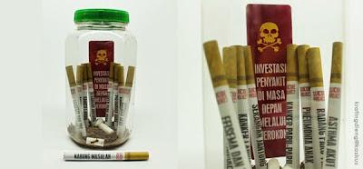 Image result for menabung atau merokok?