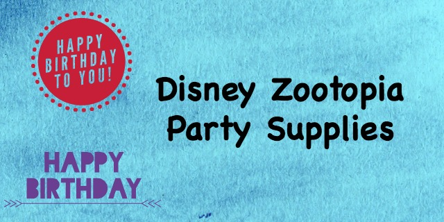 Disney Zootopia party