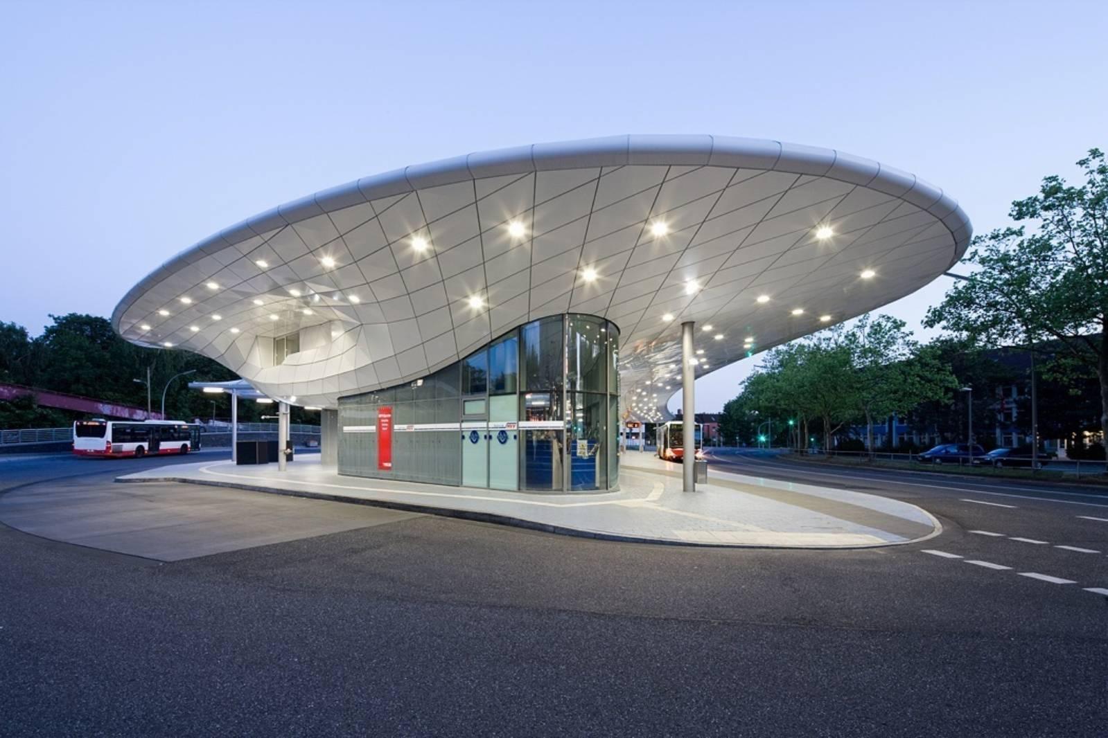 Modern Interior Home Design Bus Station By Blunck Morgen Architekten A As Architecture