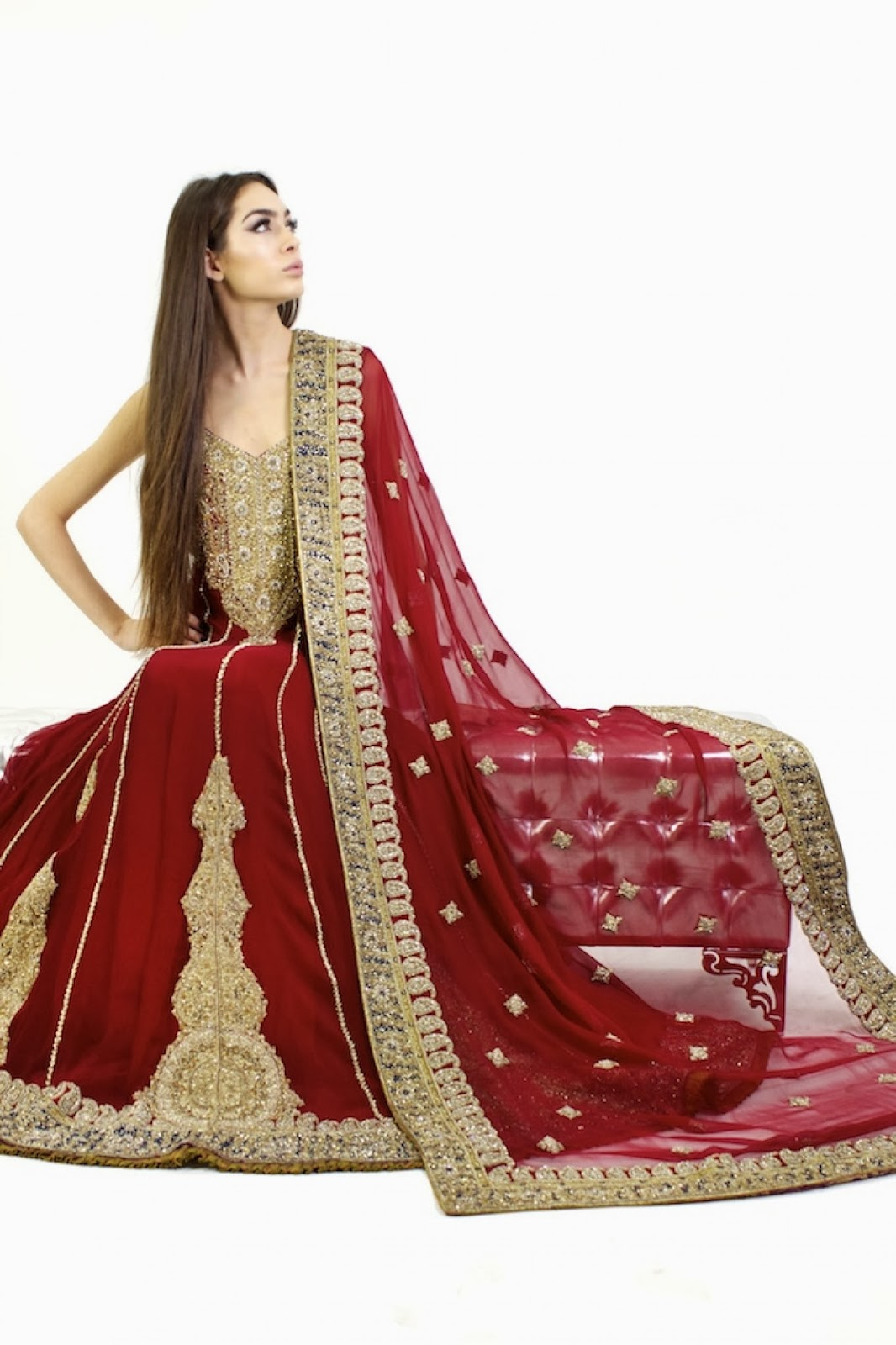 Latest Pakistani & Indian Best Wedding Dresses 2015 | Apna Food Tv
