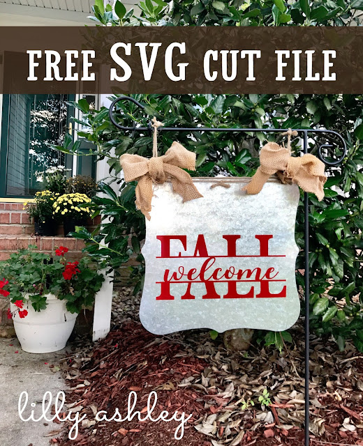 free cut file for Fall