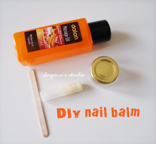 DIY nail balm